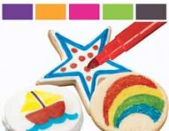 FoodWriter Neon Colors Edible Color Markers