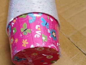 Papercup motif Kupu Love