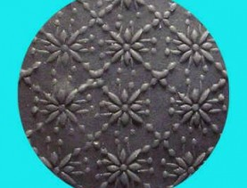 Polymer Rolling Pin Flower 3