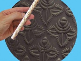 polymer rolling pin wafer