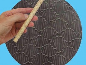 shell rolling pin